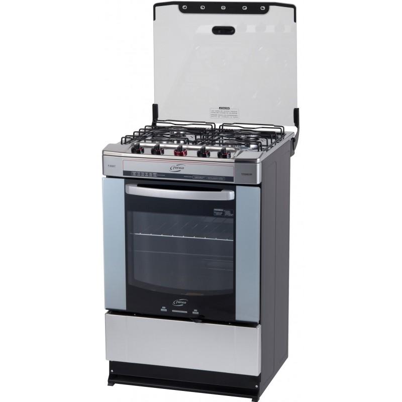 Cocina titanium fensa for Outlet cocinas a gas